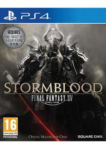 Final Fantasy XIV: Stormblood AddOn (PS4) für 7,28€ (Base.com)