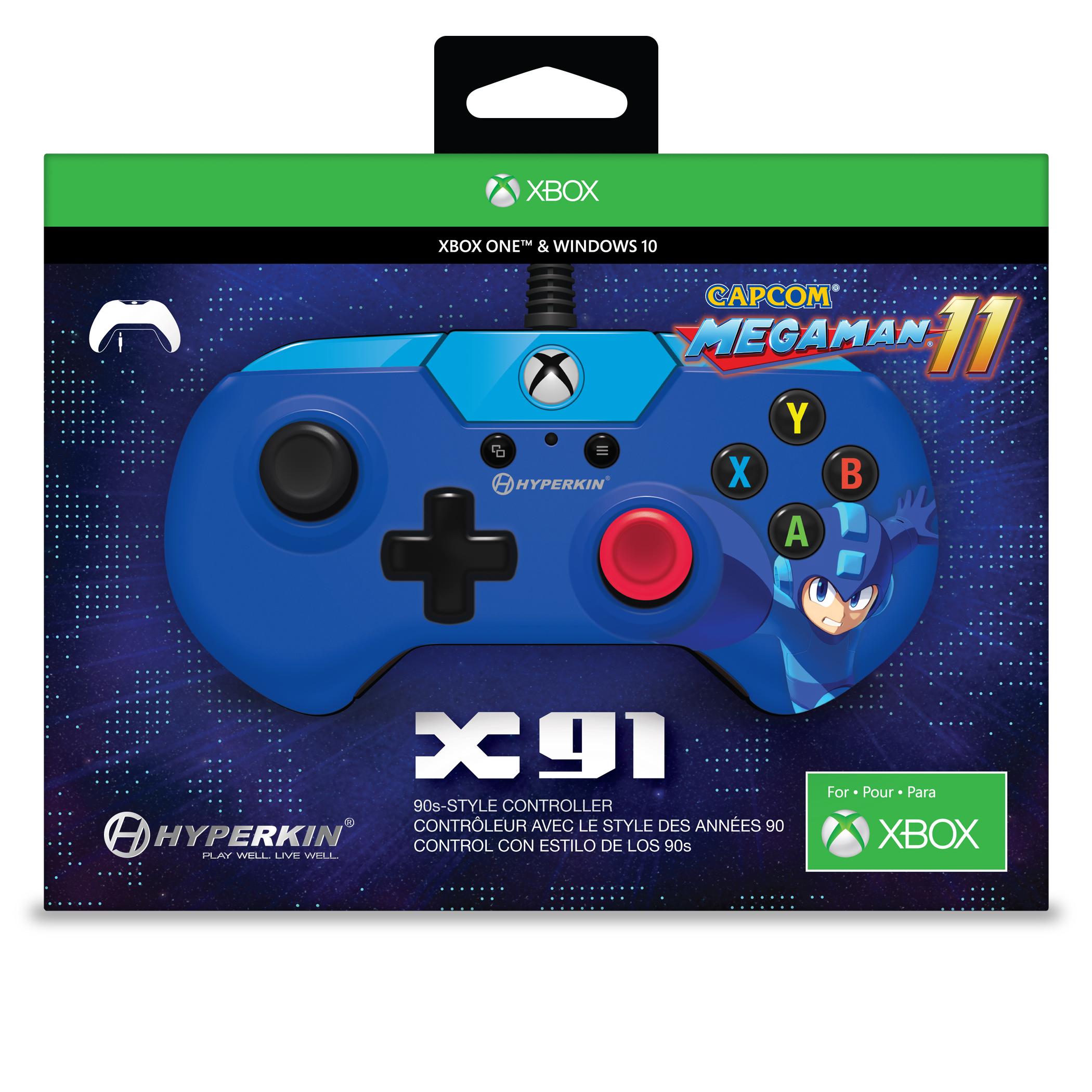 Hyperkin X91 Controller [Mega Man 11 Edition] - Xbox One | PC
