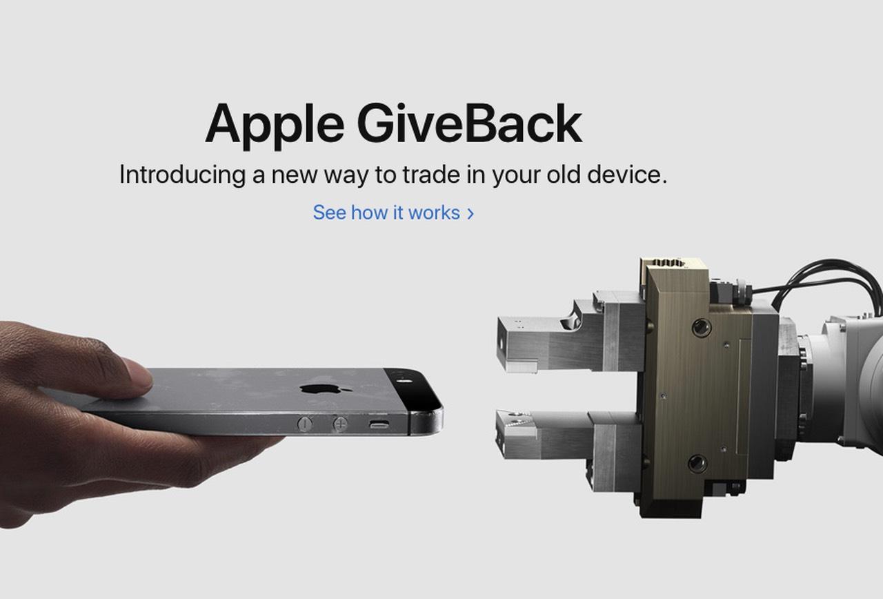 Apple GiveBack für iPhone XR und XS