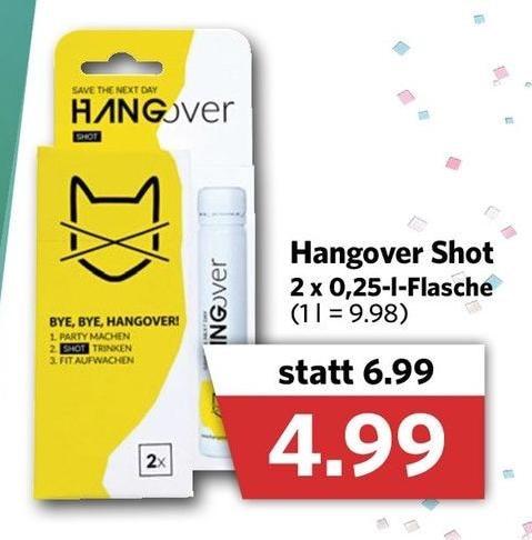Hangover Shot
