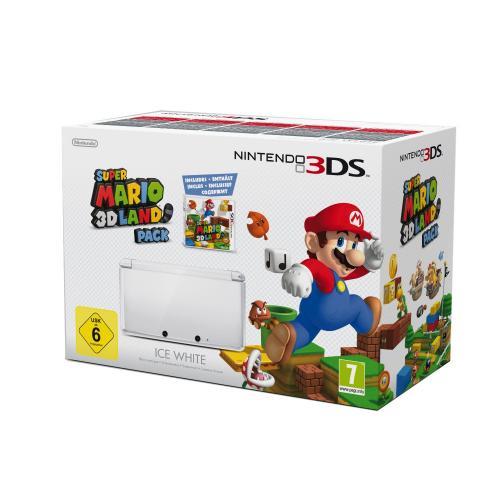 [AMAZON.IT] 3DS Bundle Super Mario weiss: Konsole + Spiel für 163,38 €