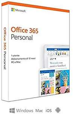 Microsoft Office 365 Personal 1 Jahr @Amazon.it