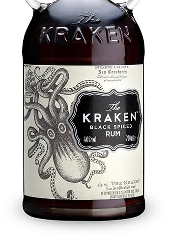The Kraken black spiced Rum (0,7 Liter, 40 %)