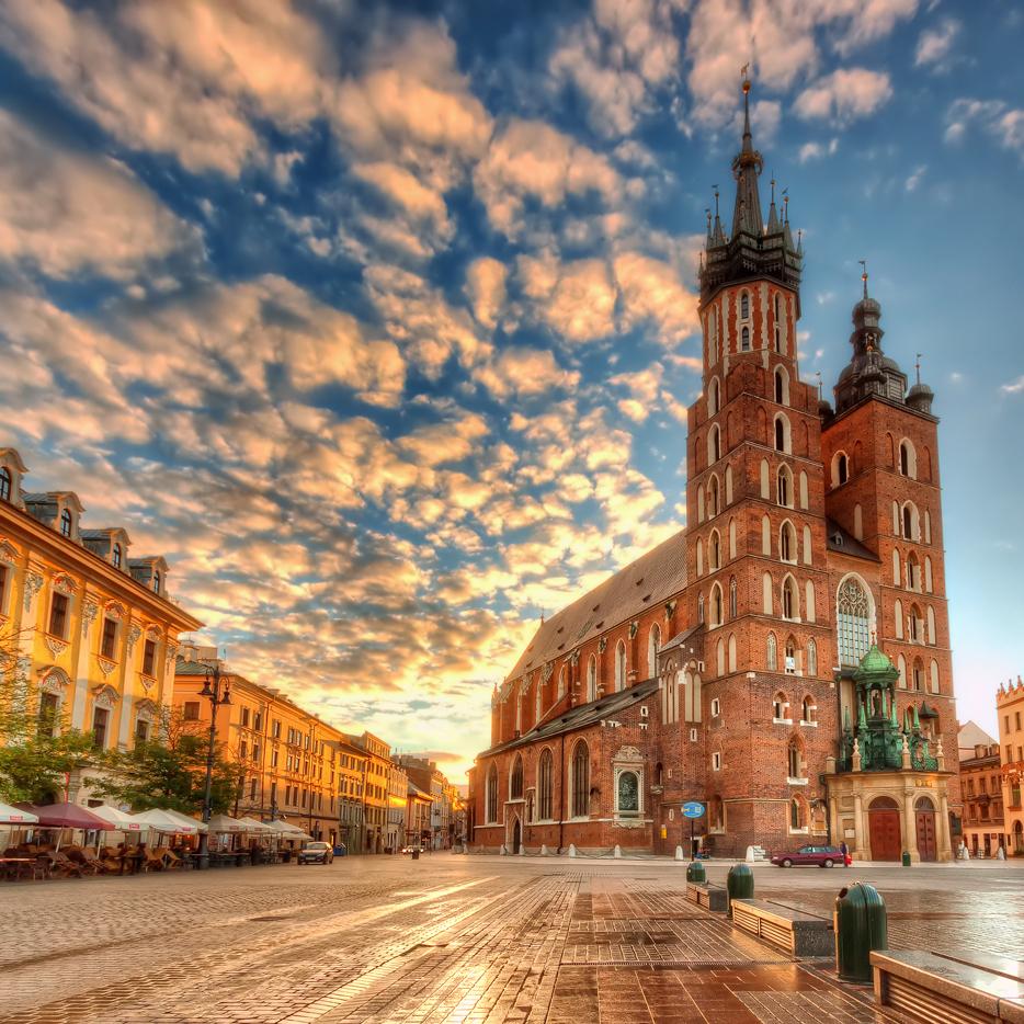 Flüge nach Krakau / Polen ab 2,77€ Hin und Zurück (0,99€ one-way) von Berlin (März - April)