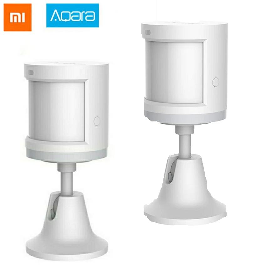 2x Xiaomi Aqara Human Body Sensor - Mi Home/ZigBee - Mit Halterung für je 7,92€