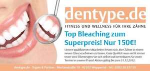 (Wuppertal; NRW)  BLEACHING 150€