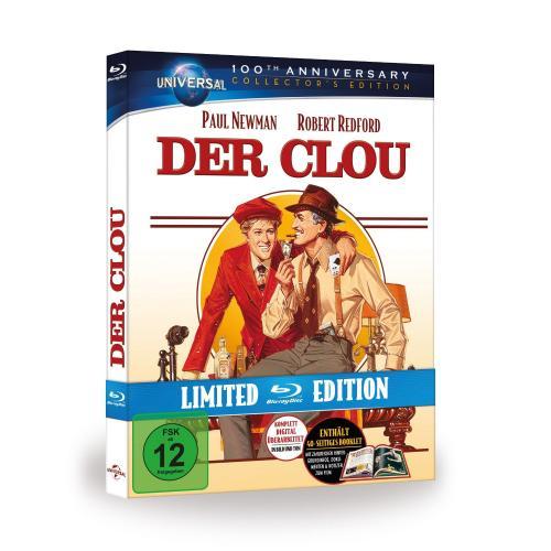 Der Clou [Blu-ray] [Limited Edition] für 9,99 Euro inkl. VSK @AMAZON.DE