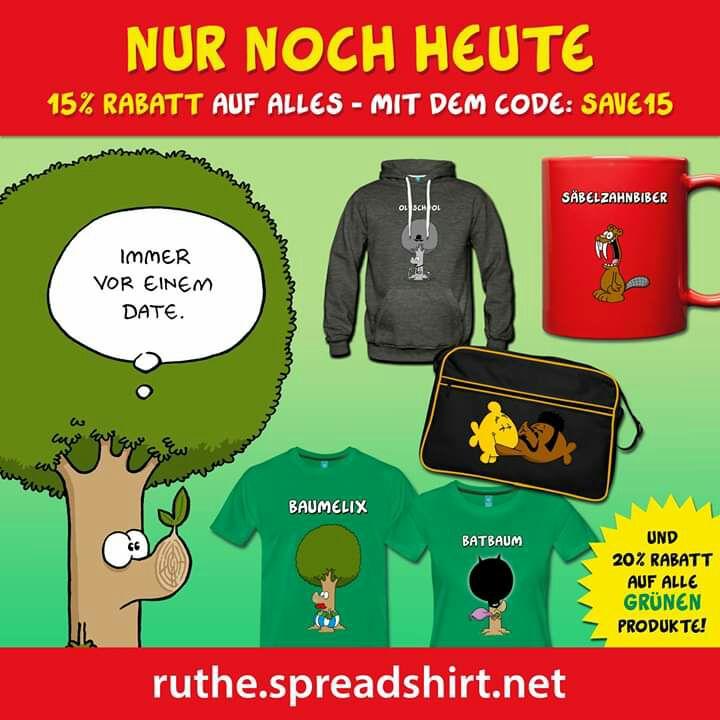Ruthe Fanshop - 15% Rabatt auf Alles - Nur Heute