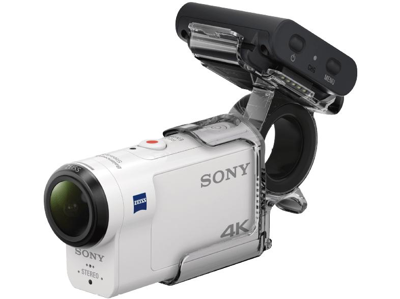 sony fdr x3000rfdi 4k action cam mit rm lvr3 live view. Black Bedroom Furniture Sets. Home Design Ideas