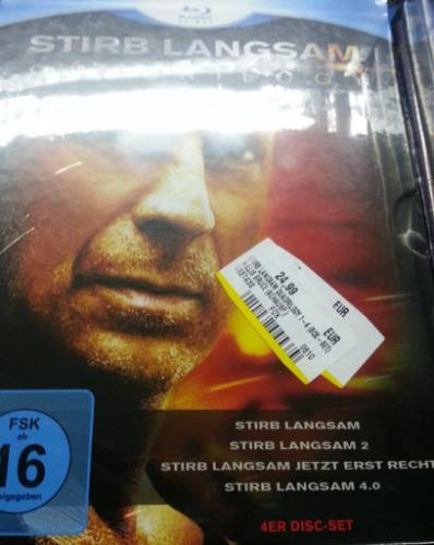 [MM-Stuttgart]Stirb Langsam - Quadrilogy 1-4 [Blu-ray]