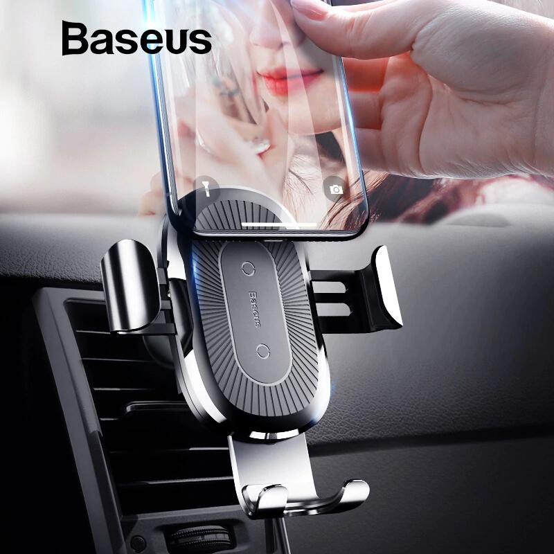 [AliExpress] Baseus Wireless Auto Charger (Ladegerät) Handy Halterung