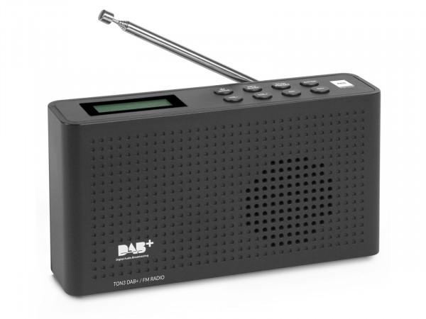 Pollin Preisknaller *Opticum Ton3 DAB+ Radio in schwarz oder weiß* Angebot der Woche