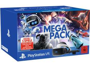 SONY PlayStation VR Megapack: PlayStation VR V2, Camera, 5 Spiele (VOUCHER) + 20€ Coupon | ohne Coupon für 259€ bei amazon