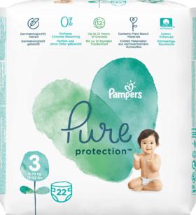 [DM Glückskind App] Gratis Tragepack Pampers Pure Protection FREEBIE 17-35 Windeln