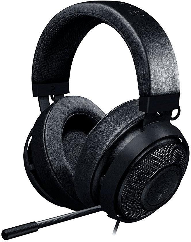 Razer Kraken Pro V2 Over-Ear Gaming Headset mit ovalen Ohrmuscheln (geschlossen, kabelgebunden)