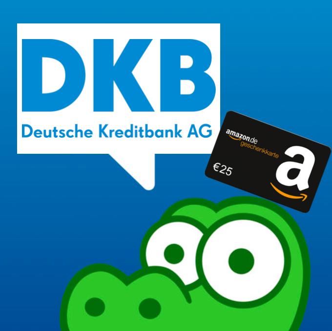 Dauerhaft kostenloses DKB-Cash Girokonto eröffnen & 25€ Amazon Gutschein bekommen (+ guter VISA-Card, DKB Live Aktionen, etc.)