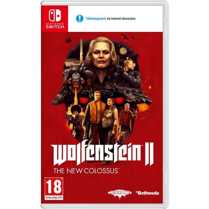 Wolfenstein 2: The New Colossus (Nintendo Switch) für 35,70€ (Cdiscount)
