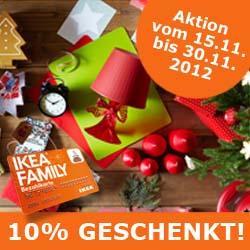 IKEA Dresden 10% Aktionskarte ab MBW 150€