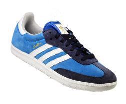 Adidas Samba Retro Sneaker in blau, rot oder weiß 39,49€ + 4,90€ Versand