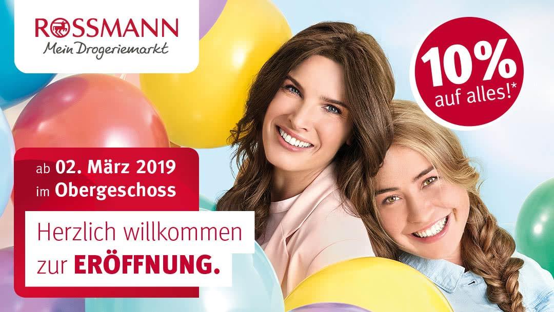 [Lokal Berlin] Rossmann Wiedereröffnung - 10 Prozent Rabatt + tägliche Aktionen Schönhauser Allee Arcaden