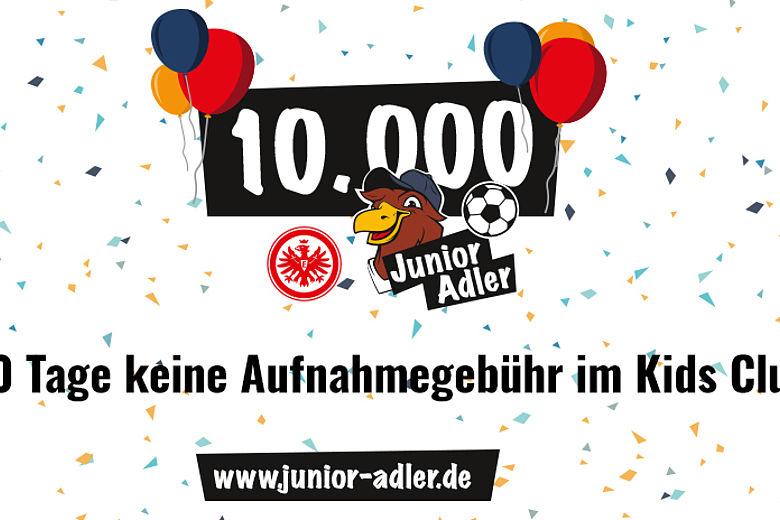 [Eintracht Frankfurt] Ohne Aufnahmegebühr in den Junior Adler Kids Club (0€ für 0-6 Jahre, 3€ je Monat für 7-14 Jahre)