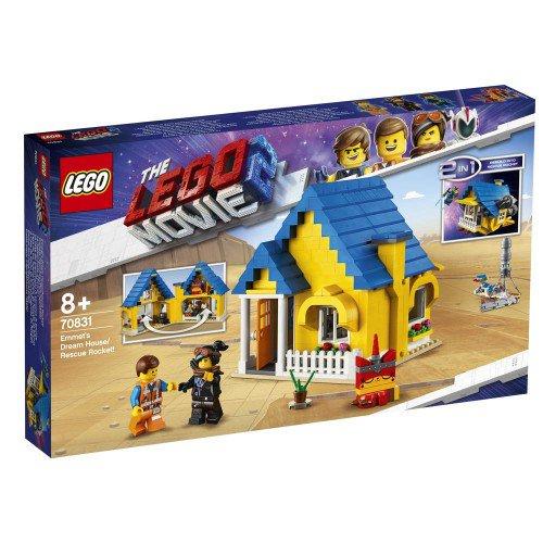 Spielemax bietet heute 30% auf Lego. Lego 70831 Emmets Traumhaus 41,99€ ivm