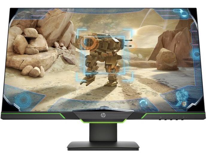 HP 27xq WQHD Gaming Monitor (27 Zoll, 2560x1440, 144Hz, 1ms, FreeSync, TN-Panel, LFC) [lidl.de]