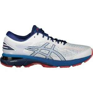 Asics Gel Kayano 25 Laufschuhe Herren White Blue Schuhe