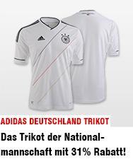 31% auf Adidas - Deutschland Trikot -> alle Größen 54,95 €