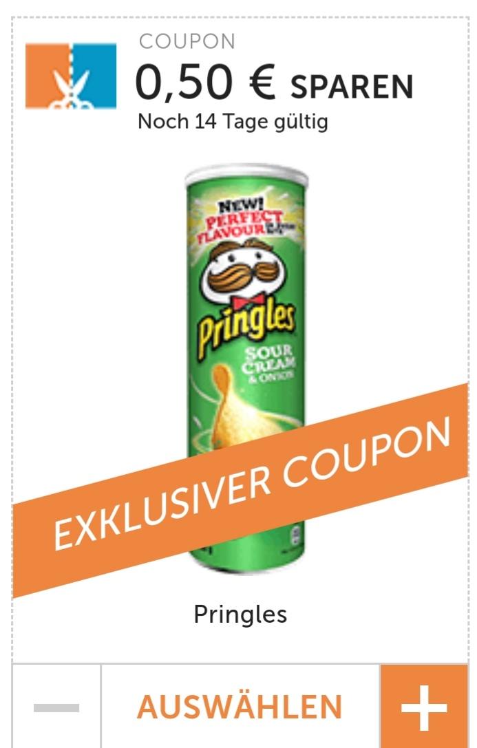 Pringles Sour Cream & ONION - 0,50€ Rabatt Coupon für den Kauf von 2 Dosen