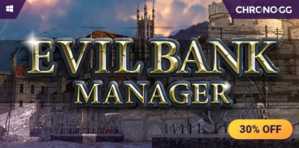 [STEAM] Evil Bank Manager zum Bestpreis @Chrono.gg noch bis 19:00 Uhr
