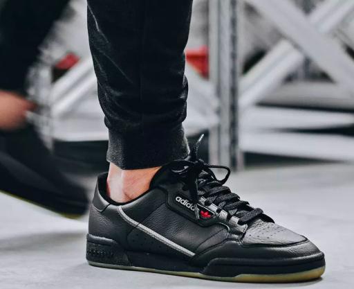adidas Originals Continental 80 schwarz (Gr. 37 bis 46)