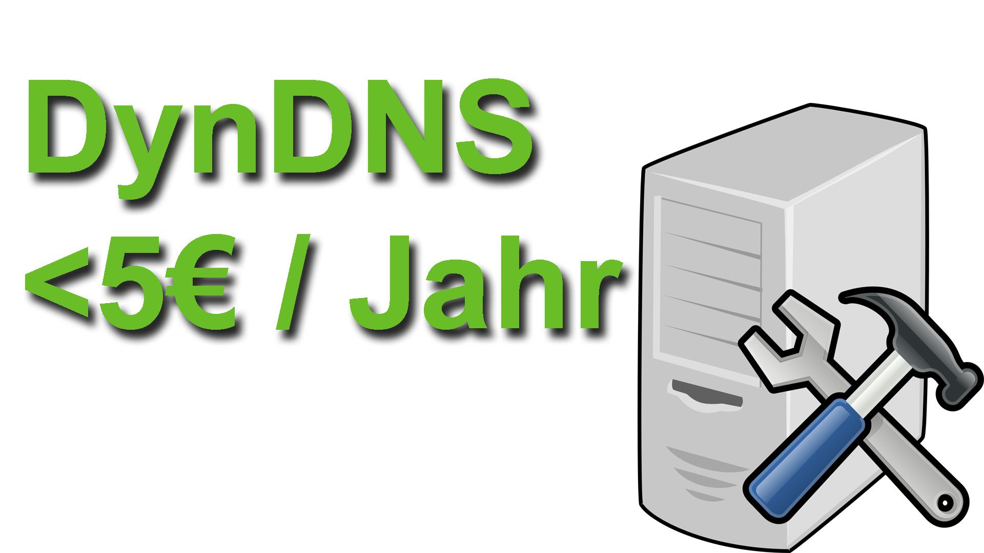 Sammeldeal für günstige & kostenlose DynDNS Anbieter