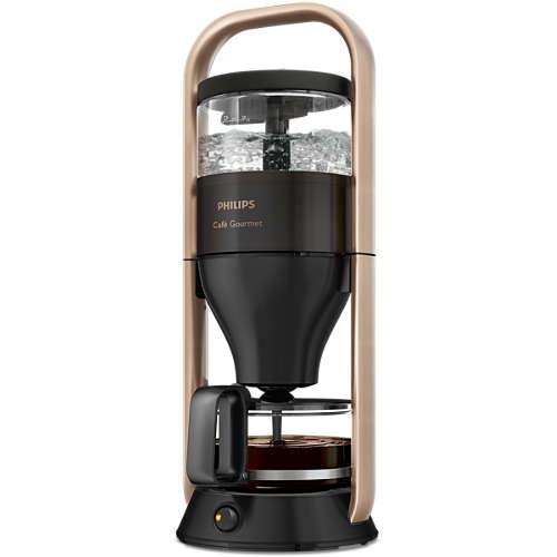 Philips HD 5408/70 Cafe Gourmet Schwarz/Kupfer