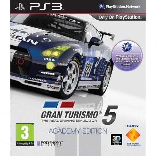 Gran Turismo 5 - Academy Edition für 19,90€ inkl. Versand