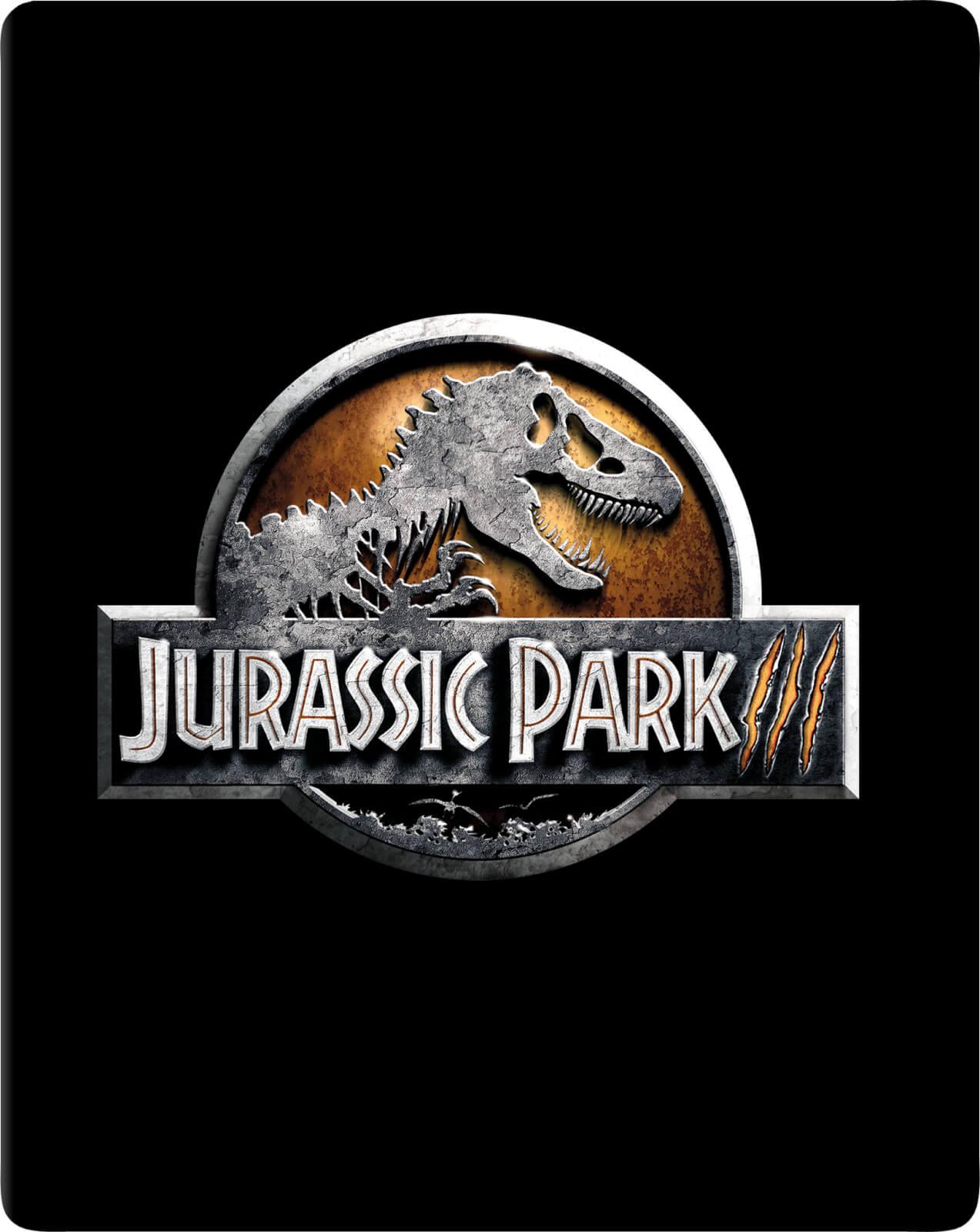Jurassic Park III - Limited Edition Steelbook (4K Blu-ray + Blu-ray) für 9,38€ (Zavvi)