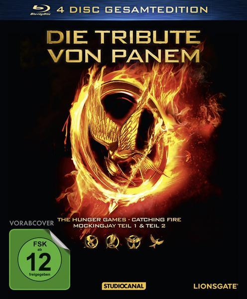 Die Tribute von Panem - Gesamtedition (4x Blu-ray)