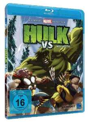 [ Blu-ray ] Hulk vs Thor & Wolverine für 5,97 EUR inkl. Versand @ Amazon.de