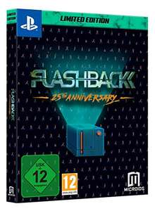 Flashback 25th Anniversary - Limited Edition (PS4) für 19,99€ (Amazon Prime & Müller)