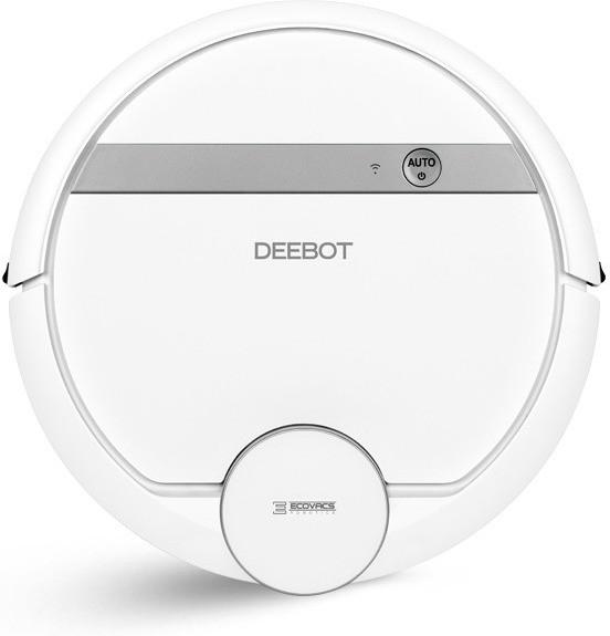 Ecovacs Deebot 900 Saugroboter (weiß, App- & Alexa-Anbinung, beutellos, Betriebszeit bis 100 Min, Staubkapazität 0,35l)