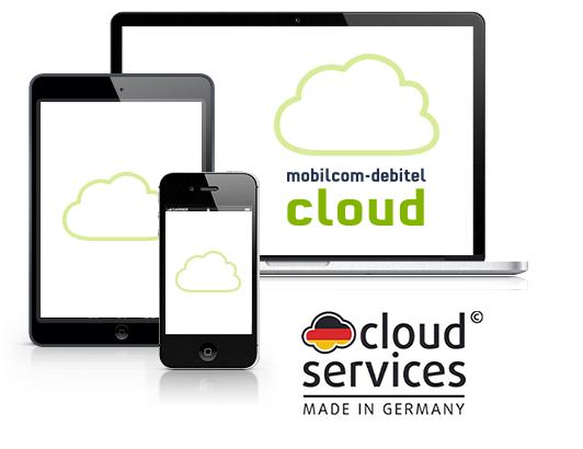 10€ geschenkt für kostenlosen Monat der mobilcom-debitel Cloud (jederzeit kündbar zum Ende der Testphase)