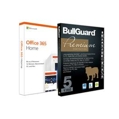Wochenangebote bei Notebooksbilliger, z.B. Microsoft Office 365 Home [6 Benutzer / 1 Jahr] inkl. BullGuard Internet Security
