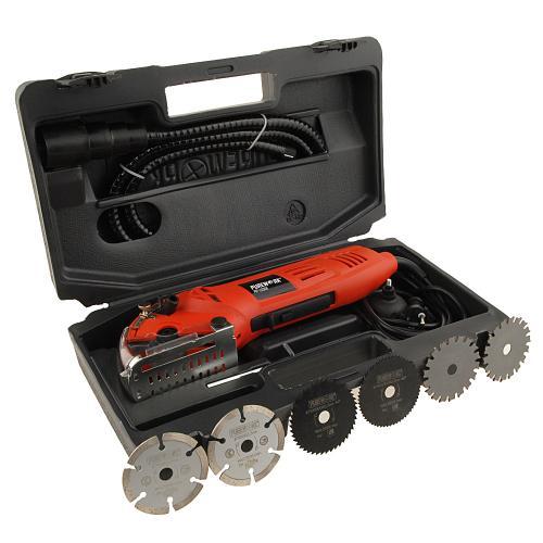 Mini Handkreissäge + 6 Scheiben + Koffer inkl. Versand für nur 22,22 EUR!