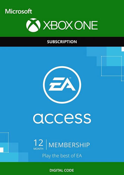 12 Monate EA Access (Xbox One) für 17,09€ (CDkeys)