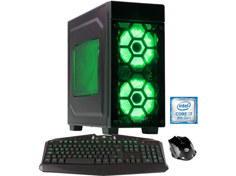 [Mediamarkt] HYRICAN STRIKER 6110, Gaming-PC mit Core™ i7 Prozessor, 16 GB RAM, 240 GB SSD, 1 TB HDD, Geforce® RTX 2070, 8 GB