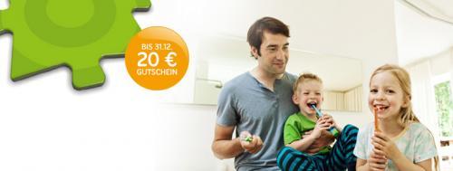 Zahnzusatzversicherung mit  20 € BestChoice Einkaufsgutschein(Z.B. Amazon)  und 20€ Qipu Cashback