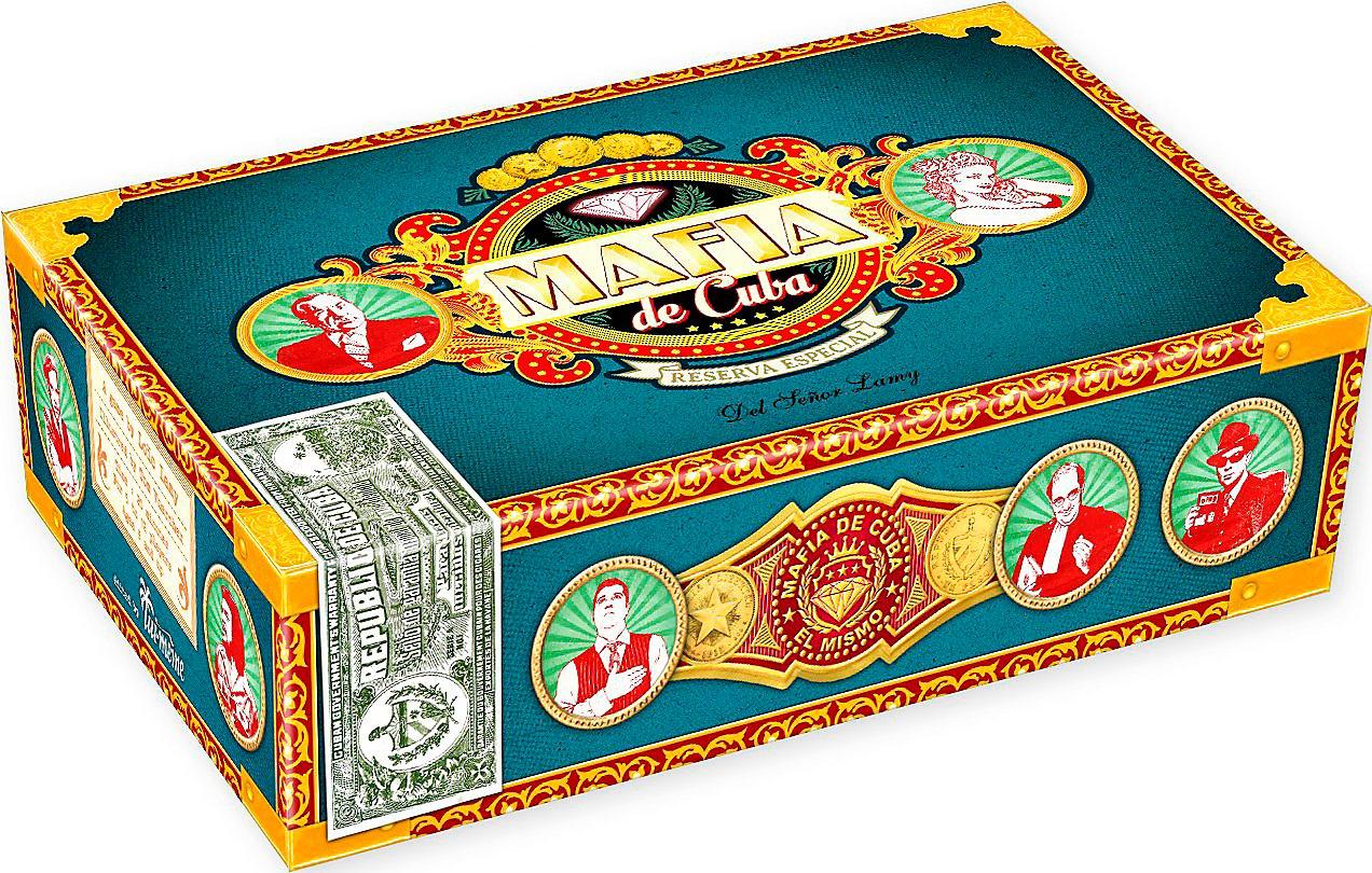 Mafia de Cuba (Brettspiel, Gesellschaftsspiel, Partyspiel)