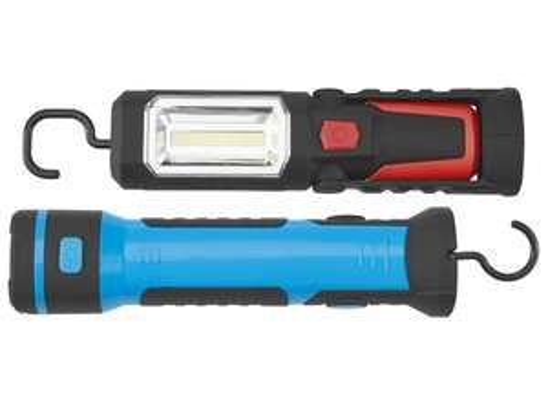 Lidl POWERFIX® LED-Akku-Arbeitsleuchte COB LED