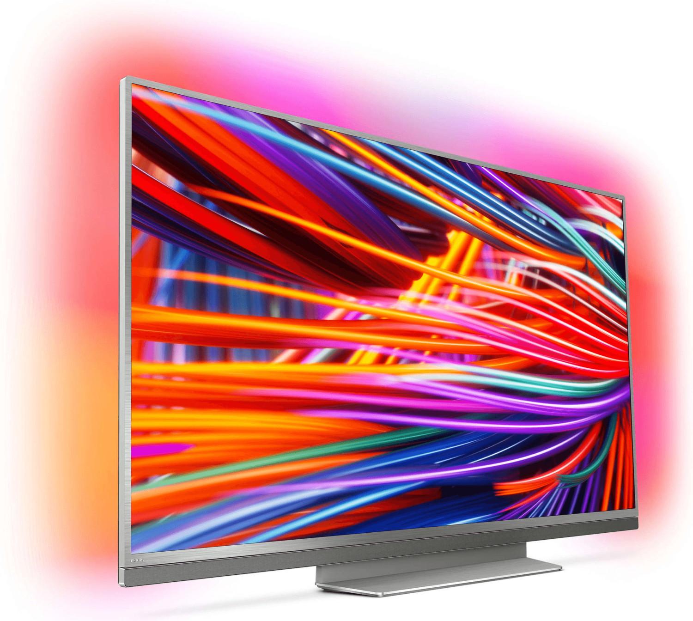 "Philips 55PUS8503 55"" 4K UHD Smart LED TV mit dreiseitigem Ambilight IPS, Edge-LED, 10bit, 120Hz, HDR, 45W Soundbar, Android 8 für 869,99€"