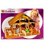Weihnachtskrippe von Eichhorn aus Holz für nur 12,99.- incl.Versand